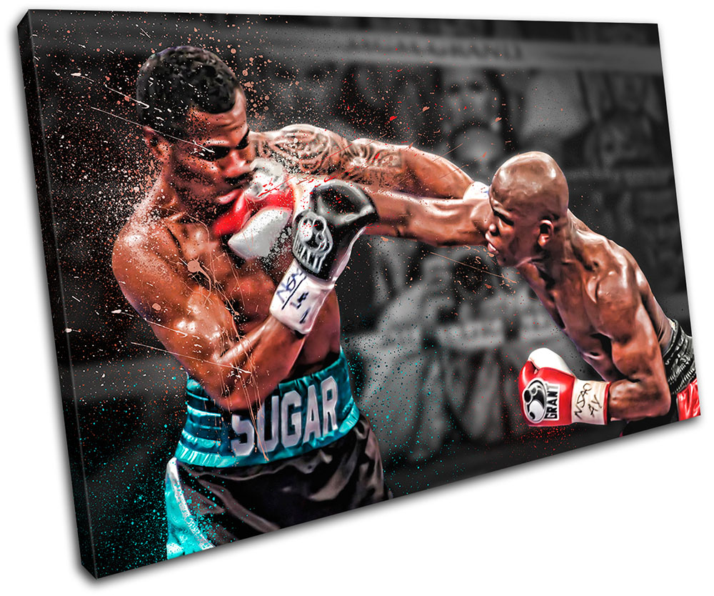 Floyd Mayweather Boxing Boxer Poster Wall Mural Art on Adhesive Vinyl