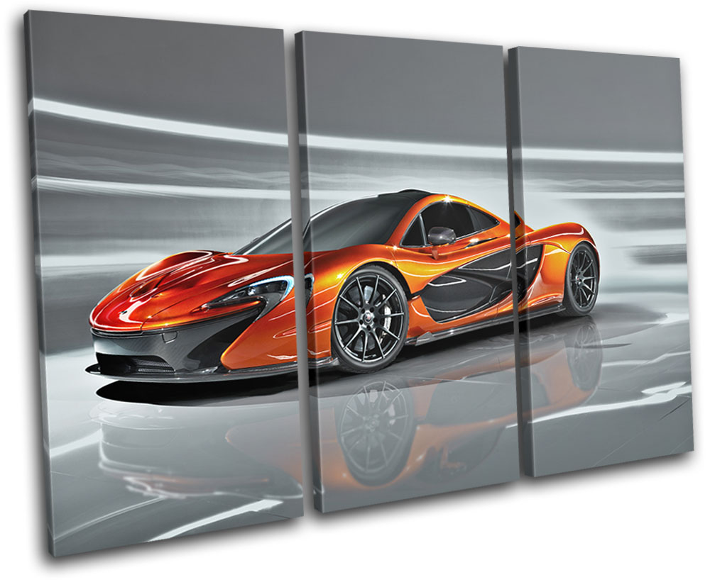 "BLACK MCLAREN P1 NEW GIANT LARGE ART PRINT POSTER PICTURE WALL 33.1/""x23.4/"""