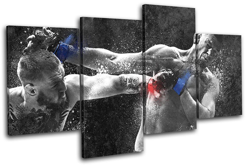 conor mcgregor nate diaz ufc mma sports multi canvas wall art