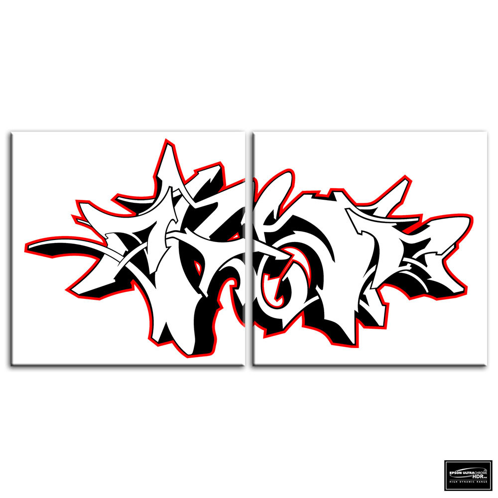 Abstract Design   BOX FRAMED CANVAS ART Picture HDR 280gsm